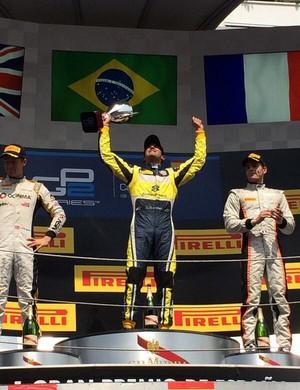 Em barcelona, Felipe Nasr vence pela primeira vez na GP2 (Foto: Divulgação/Williams)