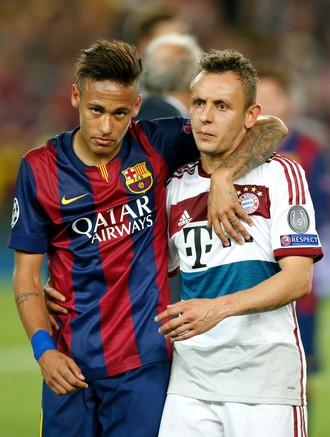 Rafinha Neymar Bayern Barcelona (Foto: AP)