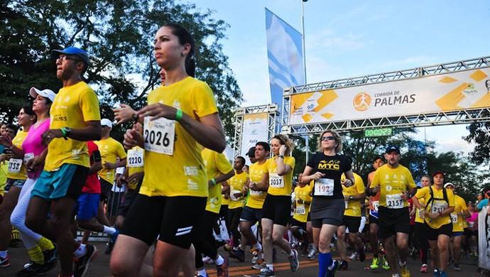 Corrida de Palmas (Foto: Divulgação/ Fundesportes)