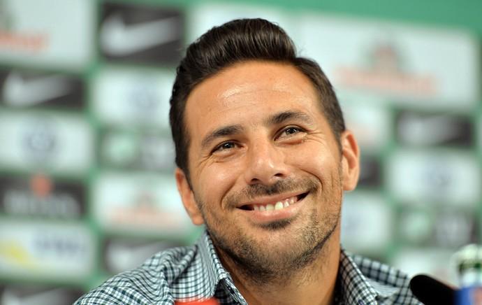 Claudio Pizarro Werder Bremen (Foto: AFP)