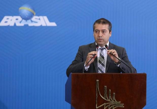 O ministro do Trabalho, Ronaldo Nogueira (Foto: Valter Campanato/Agência Brasil)