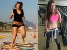 Amanda Gontijo cumpre projeto e 'humilha' com barriga chapada
