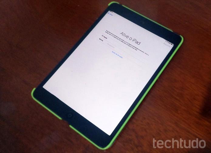 iPad (Foto: Elson de Souza/TechTudo)