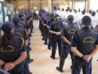 Guardas de Itaquaquecetuba, Mogi e Suzano fazem curso para usar armas