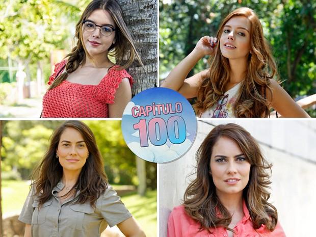 Os personagens que mais mudaram de visual, em Alto Astral (Foto: TV Globo)