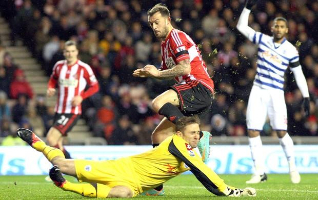 Robert Green, Sunderland x Queens Park Rangers, AP (Foto: Agência AP)