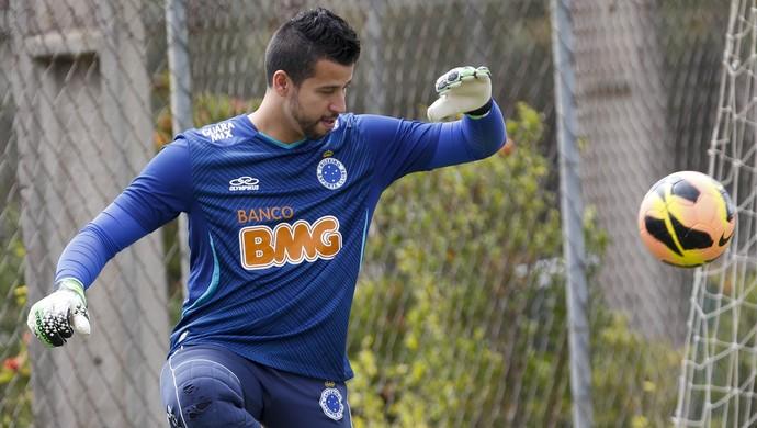 Fábio; Cruzeiro; Toca da Raposa II, treino (Foto: Washington Alves / Vipcomm)