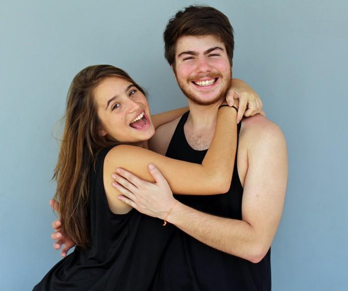 Manuela Llerena e Thales Cavalcanti vivem os protagonistas da série (Foto: Taís Moreno/Gshow)