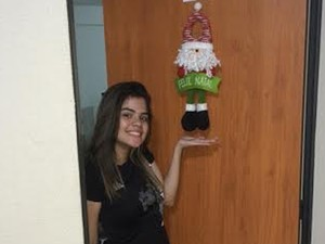 A estudante Illa Marinho já enviou a foto dela. Mande a sua! (Foto: Illa Marinho/VC no G1)