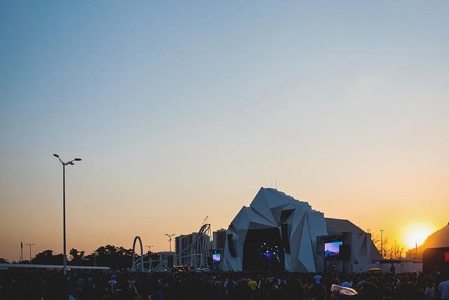 Palco Sunset: ponto de encontros musicais no Rock in Rio (Foto: Flickr / Rock in Rio)