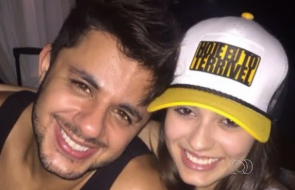 Cristiano Araújo e a namorada, Allana Moraes, morreram em 24 de junho de 2015 (Foto: Reprodução/TV Anhanguera)