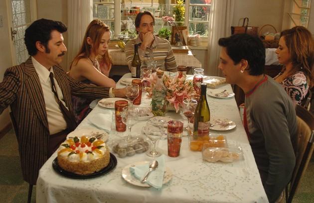 Em 2007, a família do Lineu (Marco Nanini) chegou às telas do cinema (Foto: Divulgação)