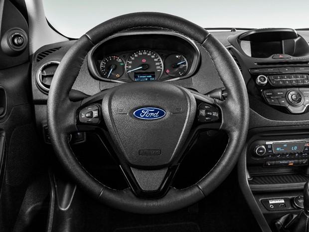 Interior do Ford+ que será vendido na Europa (Foto: Divulgação)