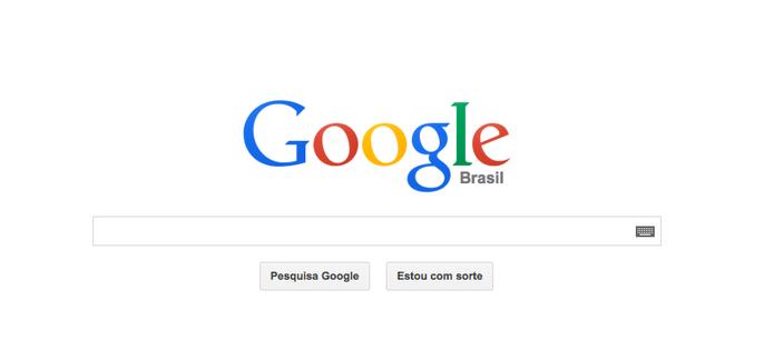 Google.com muda logo de maneira sutil (Foto: Google)