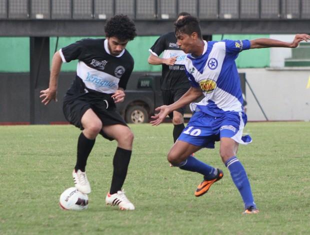 Amax e Adesg se enfrentam no estádio Florestão (Foto: Francisco Dandão/Arquivo Pessoal)