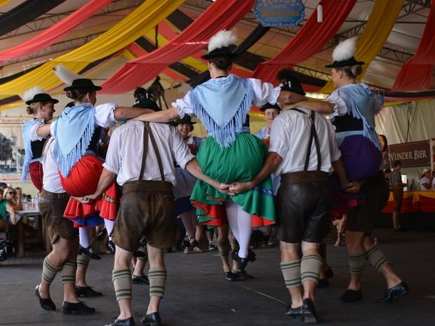 Visitantes com roupa típica terão entrada gratuita na festa (Foto: Daniel Zimmermann/Divulgação)