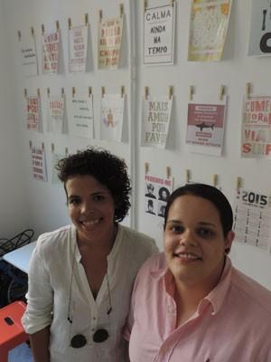 Vitória e Kamilla se formaram em Minas Gerais e vieram morar em Pernambuco (Foto: Vitor Tavares / G1)