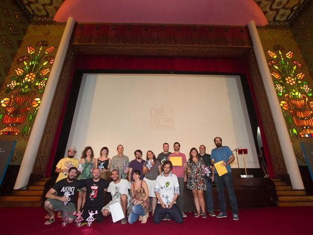 Todos os vencedores do Cine PE 2015 (Foto: Mariana Guerra / Divulgação)