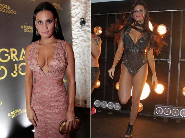 2322e96ac6 EGO - Leticia Lima rouba a cena em festa com vestido decotado e body ...