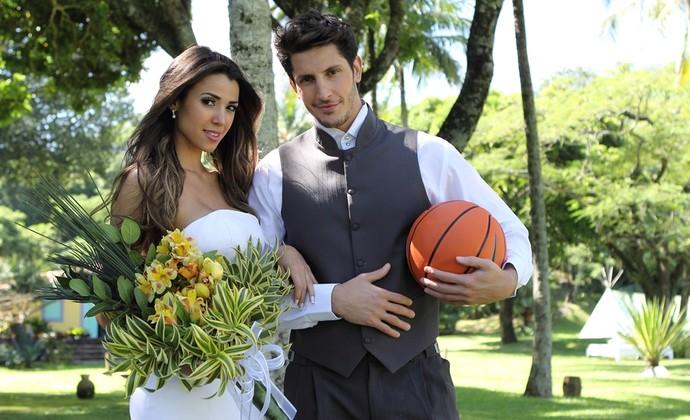 Dedé Stefanelli modelo São José basquete (Foto: Bruno Fraiha/ Revista + Noivas&Festas/OVALE)