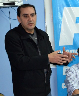 Anderson Farias, presidente do PSDB em São José dos Campos (Foto: Danilo Sardinha/GloboEsporte.com)