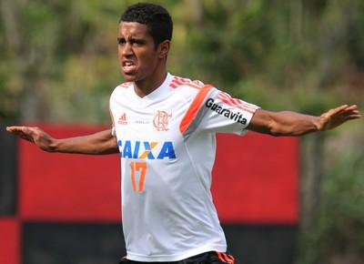 Gabriel, meia do Flamengo (Foto: Gilvan de Souza / Flamengo)