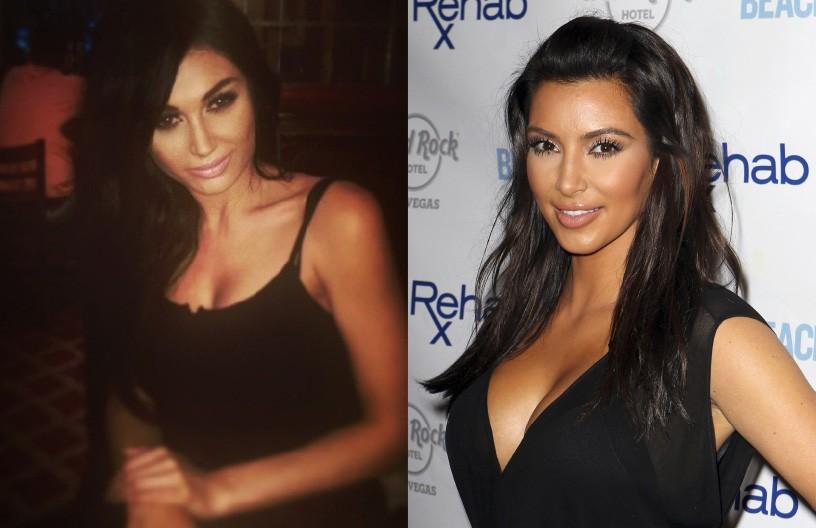 Mais outra wannabe da família Kardashian. Claire gastou em procedimentos estéticos mais de US$ 30 mil e agora está envididada. A londrina de 24 anos se obcecou por Kim enquanto assistia seu reality show, 'Keeping Up With the Kardashians'. Ela aumentou os seios, clareou os dentes e gasta horas por dia com extensões capilares, maquiagem, unhas, além de imitar as roupas do ídolo. (Foto: Arquivo Pessoal/Getty Images)