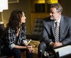 Débora Falabella e Dan Stulbach em cena de 'A força do querer' |  Globo/João Miguel Júnior