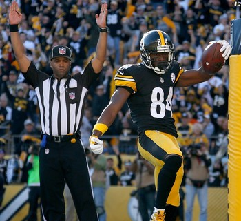 NFL Antonio Brown Pittsburgh Steelers (Foto: Gregory Shamus / Getty Images)