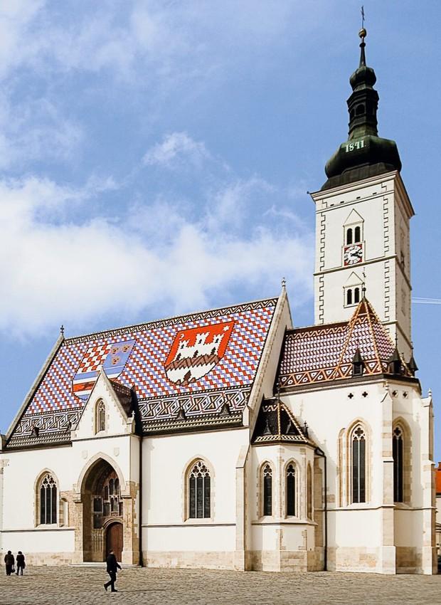 Igreja de São Marcos, reconstruída na segunda metade do século 14 (Foto: Foto: Divulgação)
