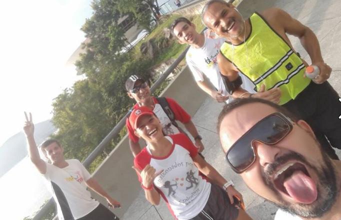 EuAtleta - Wagner acidente corrida de aventura (Foto: Reprodução Facebook)