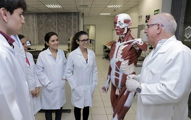 Medicina acima da média no INEP (Ares Soares/Unifor/Divulgação)
