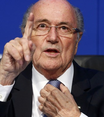 Joseph Blatter coletiva Fifa (Foto: Reuters)