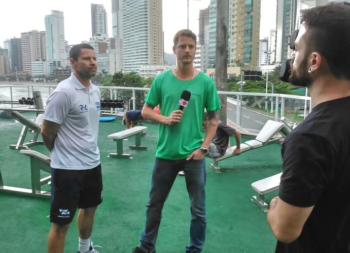 Guilherme vai dar dicas do que curtir em Balneário Camboriú (Foto: RBS TV/Divulgação)