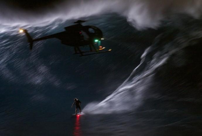 Mark Visser, surfe (Foto: Reprodução/Youtube)