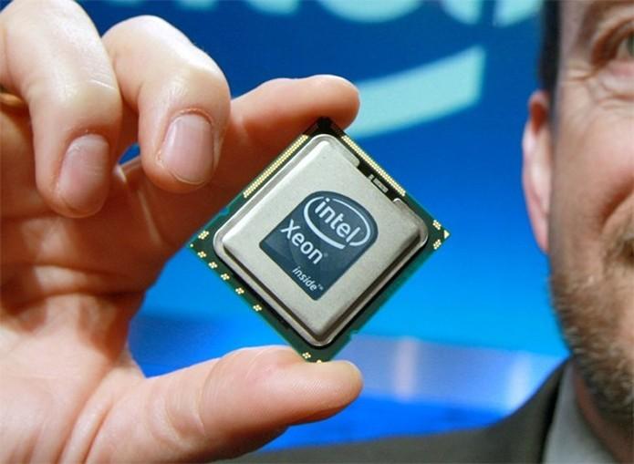 Ainda não se tem muitos detalhes do Intel Xeon que virá nos notebooks (Foto: Divulgação/Intel)