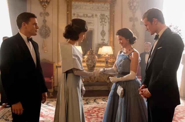 Cena da segunda temporada de 'The crown' (Foto: Alex Bailey/Netflix)