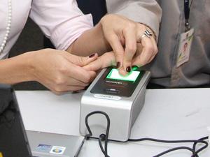 Resultado de imagem para imagem de recadastramento biométrico