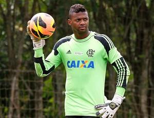 Felipe treino Flamengo (Foto: Cezar Loureiro / Agência O Globo)