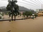 Mais de 50 cidades e cinco mil  pessoas sofrem com chuvas em SC