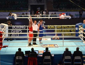 Brasil garante primeira vitória no Mundial de Boxe em Almaty, no Cazaquistão (Foto: Divulgação/ CBBoxe)