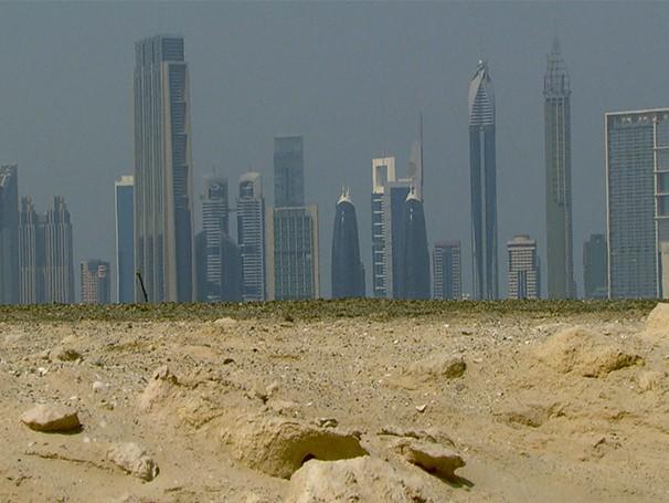 Reposrtagem revela o dia a dia de moradores de Dubai (Foto: Divulgação/ Reprodução de TV)