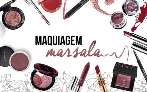 Eleita a cor do ano, Marsala dá o tom da maquiagem em 2015