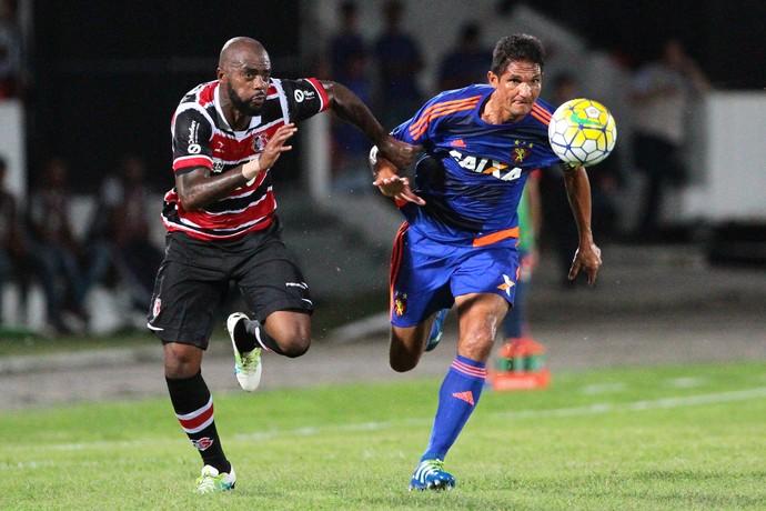 Santa Cruz x Sport Série A (Foto: Marlon Costa / Pernambuco Press)