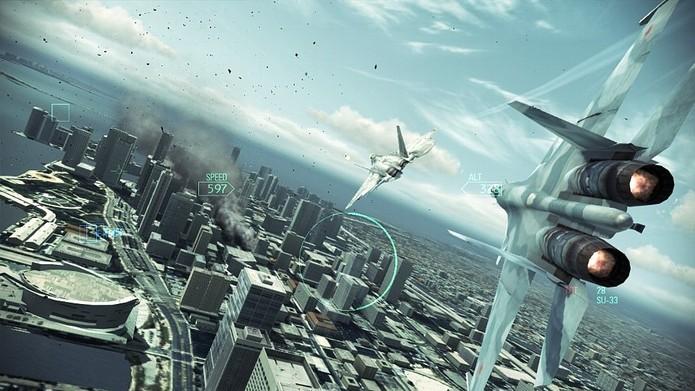 Ace Combat Assault Horizon (Foto: Divulgação/Bandai Namco)