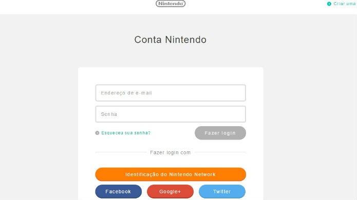 É obrigatório ter uma conta mynintendo para ganhar descontos em compras do Wii U (Foto: Reprodução/Thomas Schulze)
