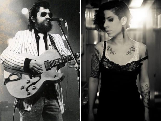 Raul Seixas e sua filha, Vivi Seixas. A DJ vai homenagear o pai no Rock in Rio  (Foto: Divulgação / Fundação Paulo Coelho)