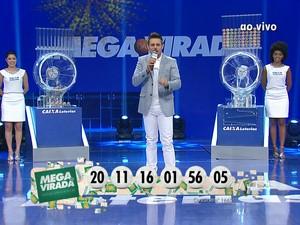 Mega da Virada 2014 (Foto: Reprodução/TV Globo)