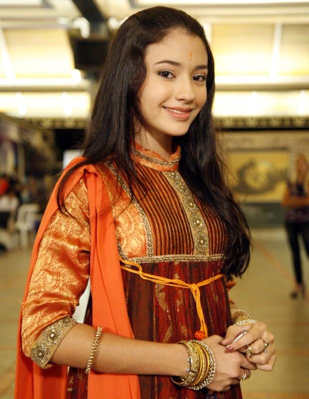Em 2009, Carolina Oliveira viveu a Chanti em Caminho das Índias (Foto: TV Globo / Rafael França)