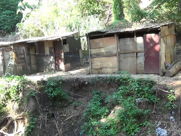 Prefeitura de Piracicaba afirmou que construções são irregulares (Foto: Wesley Justino/EPTV)